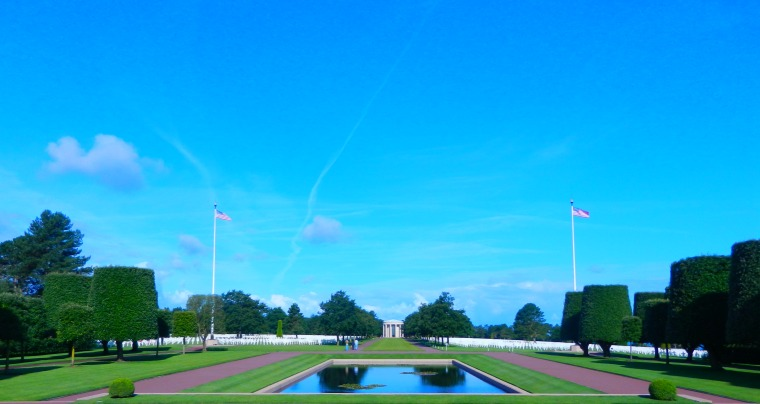 American Cemetery of Colleville-sur-Mer, Omaha Beach, Normandy