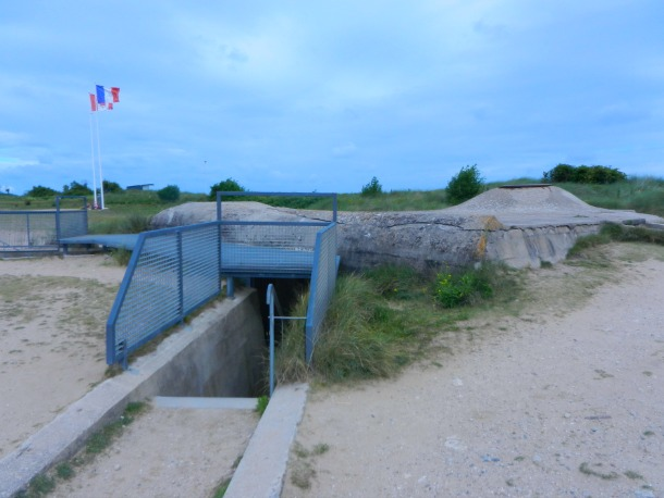 German Observation Bunker, Juno Beach, D-Day Beaches, Normandy