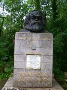 Grave of Karl Marx, Highgate Cemetery, London