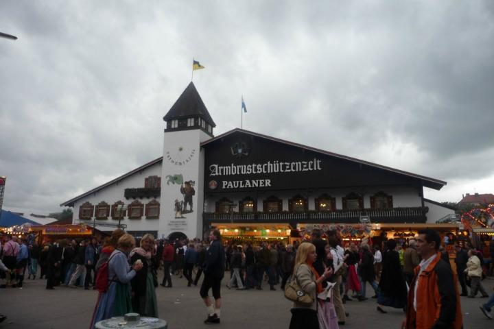 Oktoberfest Munich tent