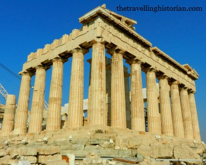 Acropolis' Parthenon in Athens, Greece
