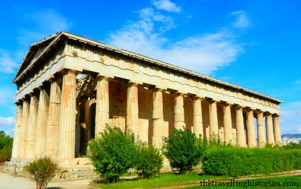 Temple of Hephaestus in  Ancient Agora, Athens, Greece