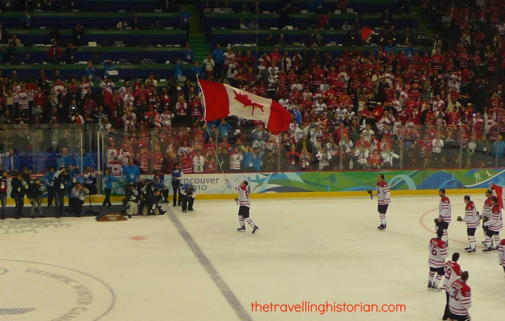 Vancouver 2010 Olympics - Gold for Men's Hockey