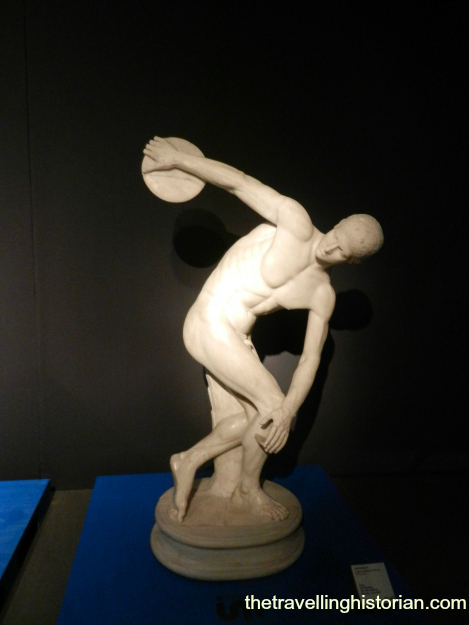 Disc Thrower, Myron, Roman copy of Greek bronze, 1st c. AD, Museo Nazionale Romano