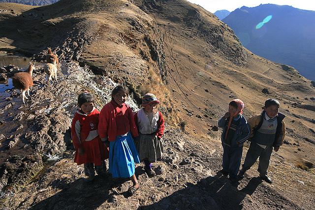 Lares Trek to Machu Picchu.