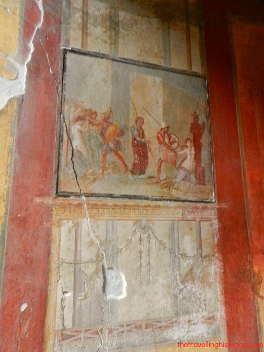 Mosaics in Pompeii