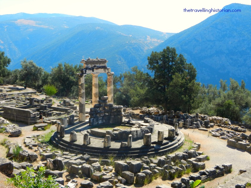 Athena Pronaia Sanctuary in Delphi
