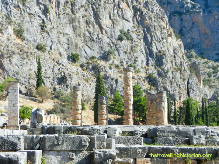 Delphi and Temple of Apollo