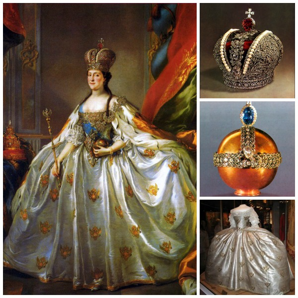 Catherine the Great Regalia, Armoury, Kremlin, Moscow