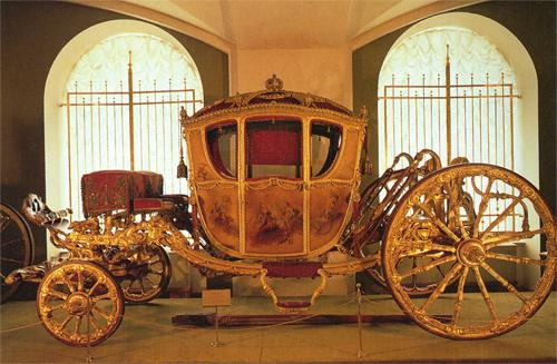 Catherine the Great's carriage, Armoury, Kremlin, Moscow