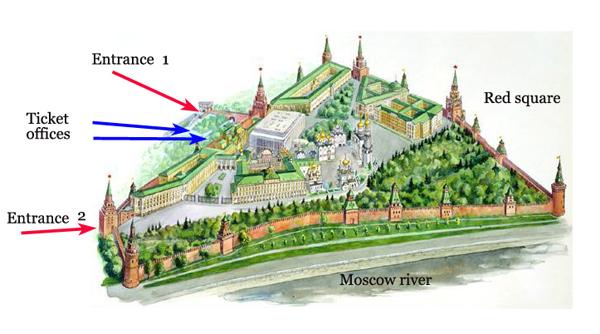 Kremlin Entrance, Moscow