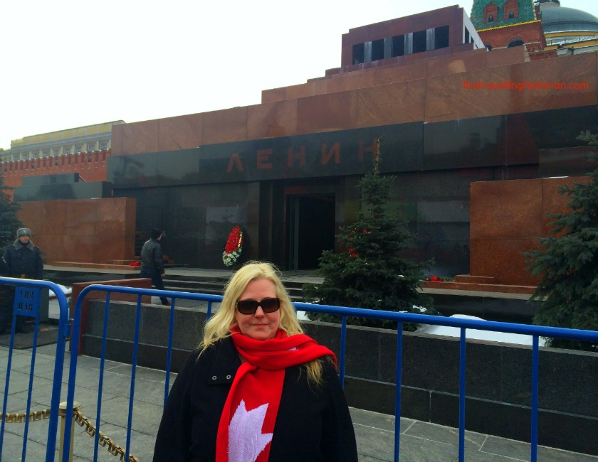 Lenin's Mausoleum, Red Square, Moscow