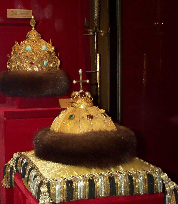 Monomakh Cap and Kazan Crown
