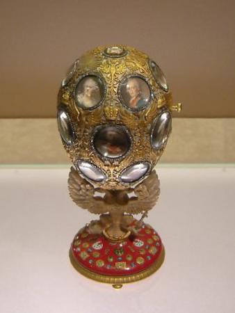 Romanov Tercentenary Egg, Armoury, Moscow
