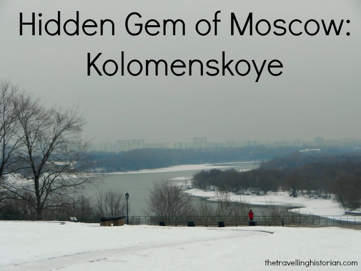 View of the rest of Moscow from Kolomenskoye