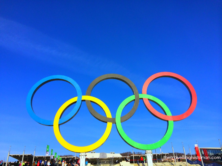 Olympic Rings, Olympic Park, Sochi, Russia