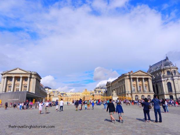 Visiting Versailles in 2011