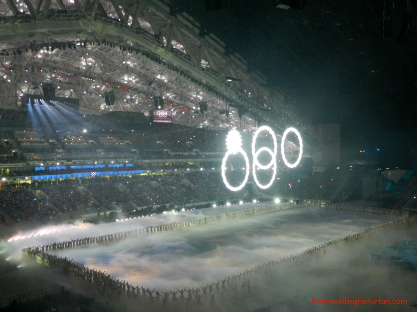 Snafu at Opening Ceremony, Sochi Olympics