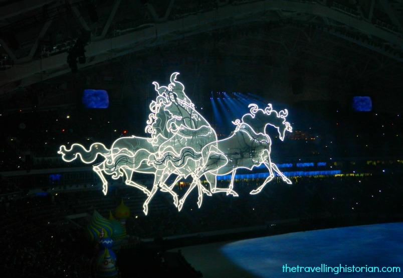 Troika, Sochi 2014 Opening Ceremony