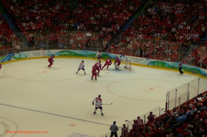 Canada vs Russia in Vancouver 2010