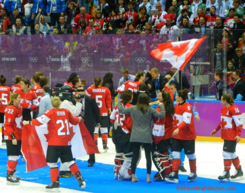Sochi 2014 Olympic Hockey Women: Victory for Canada